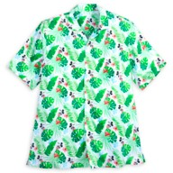 Mickey Mouse Tropical Woven Shirt for Adults