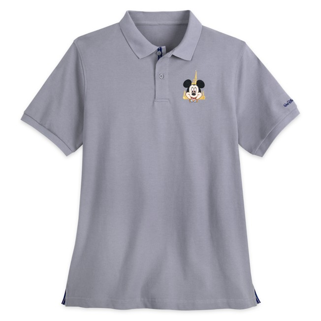 Mickey Mouse Polo Shirt for Adults – Walt Disney World 50th Anniversary