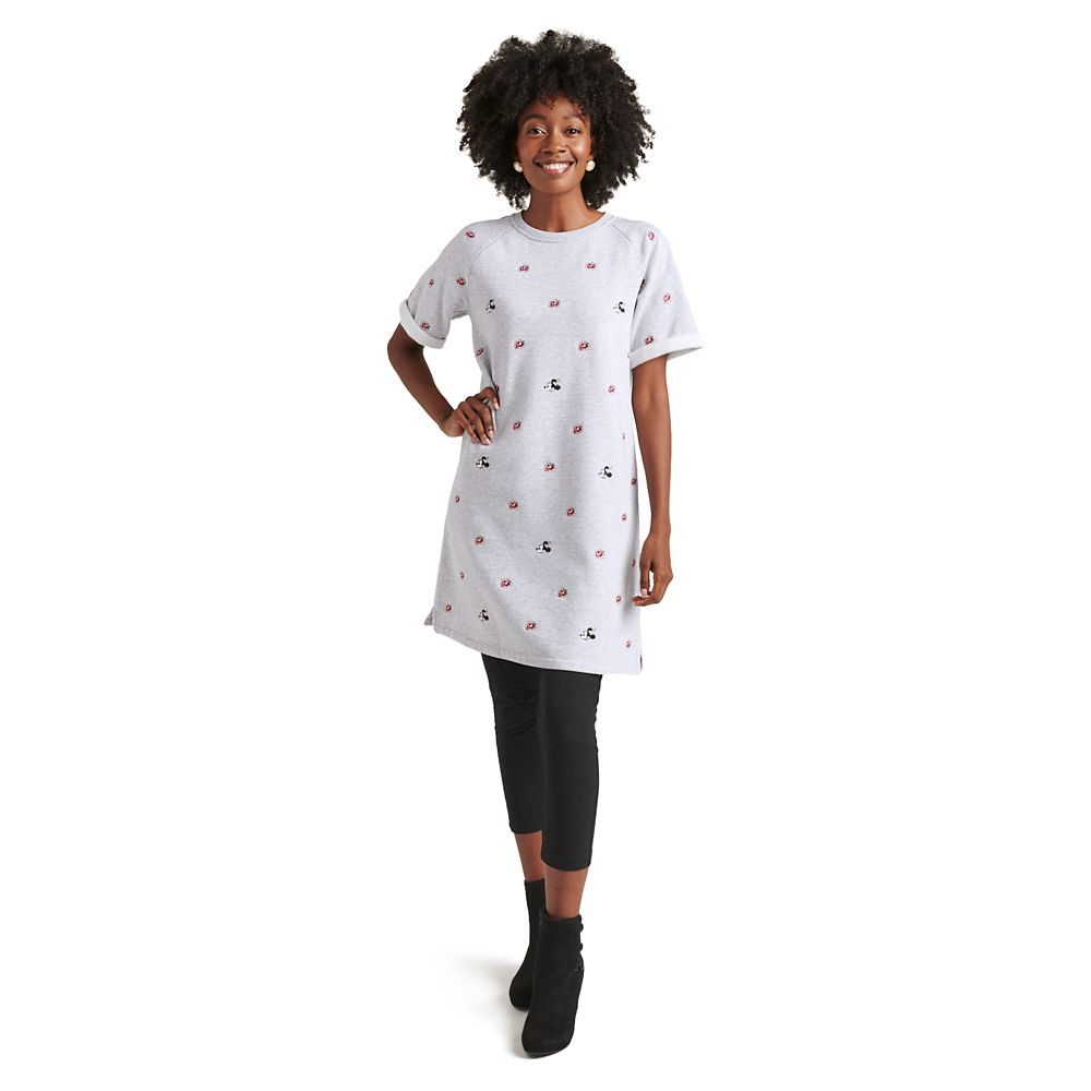 Minnie Mouse Floral Knit Dress for Women