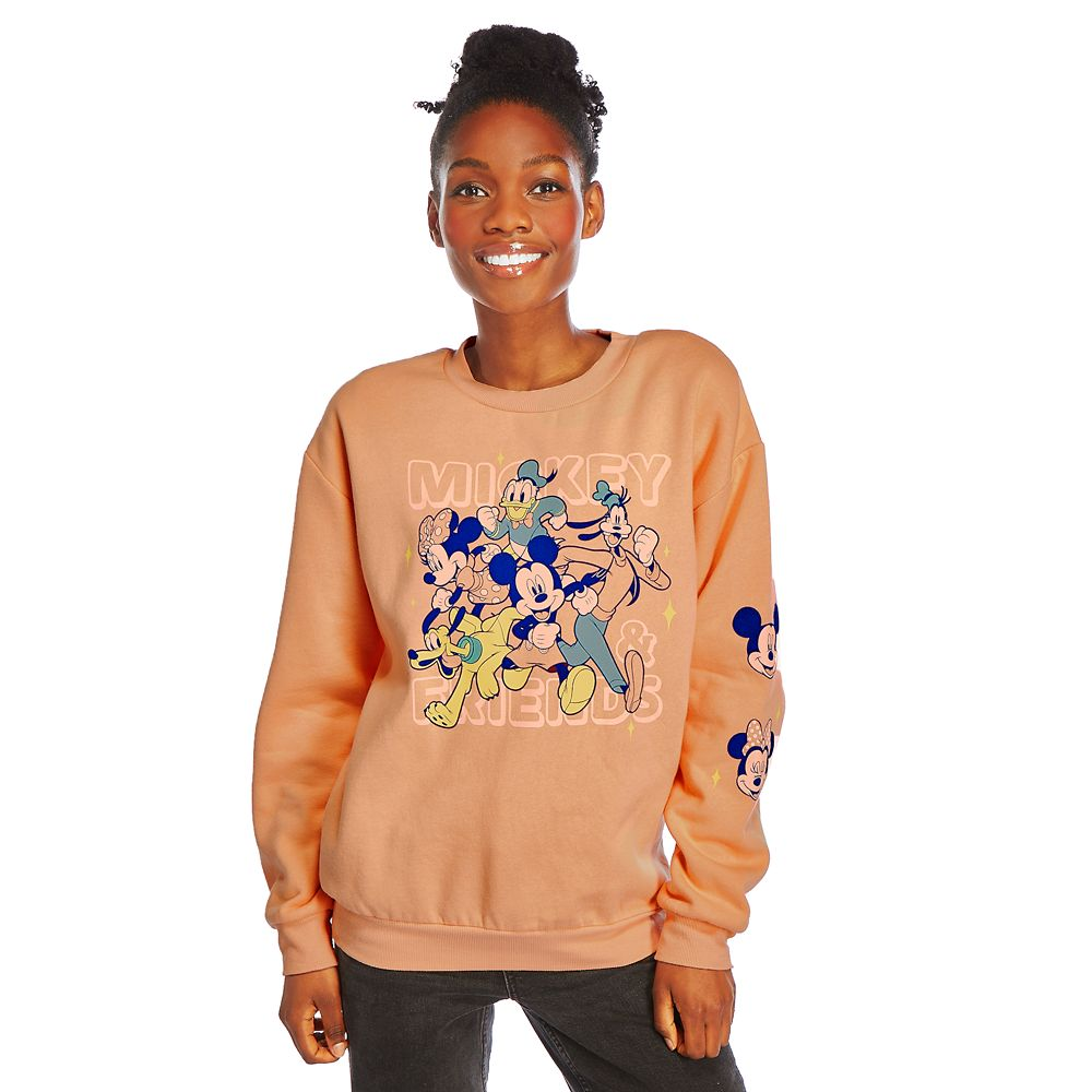 Mickey Mouse and Friends Sweatshirt for Adults – Mickey & Co.