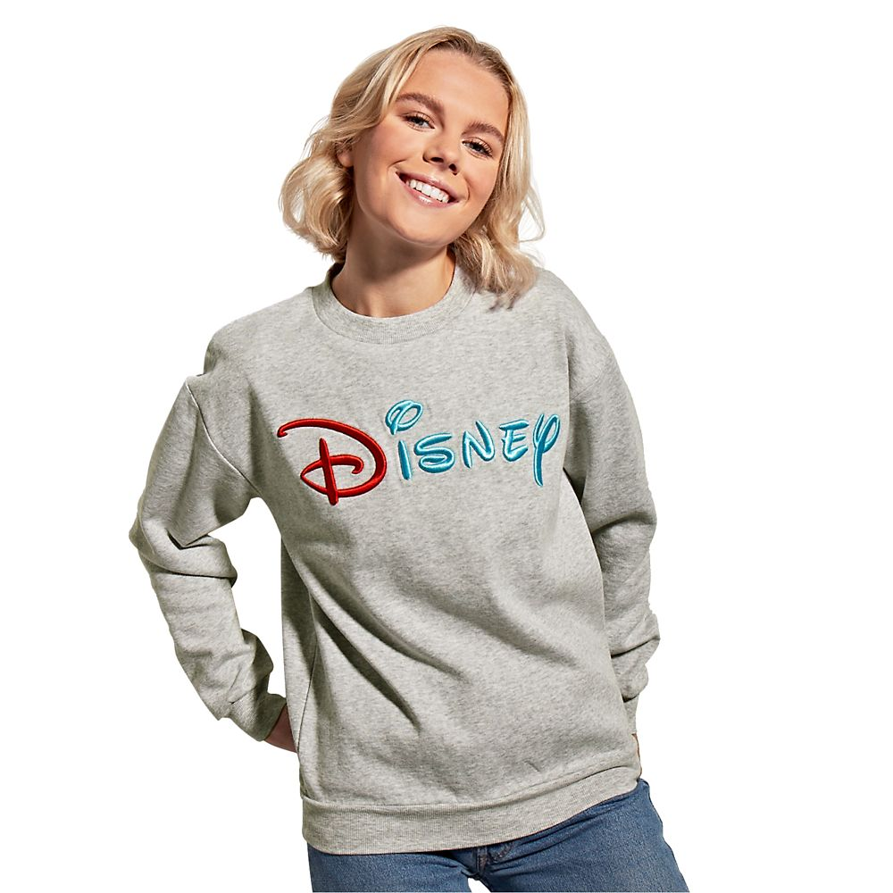 Mickey Mouse and Friends Disney Logo Sweatshirt for Adults – Mickey & Co.