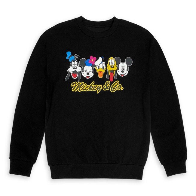 Mickey Mouse and Friends Sweatshirt for Women – Mickey & Co.