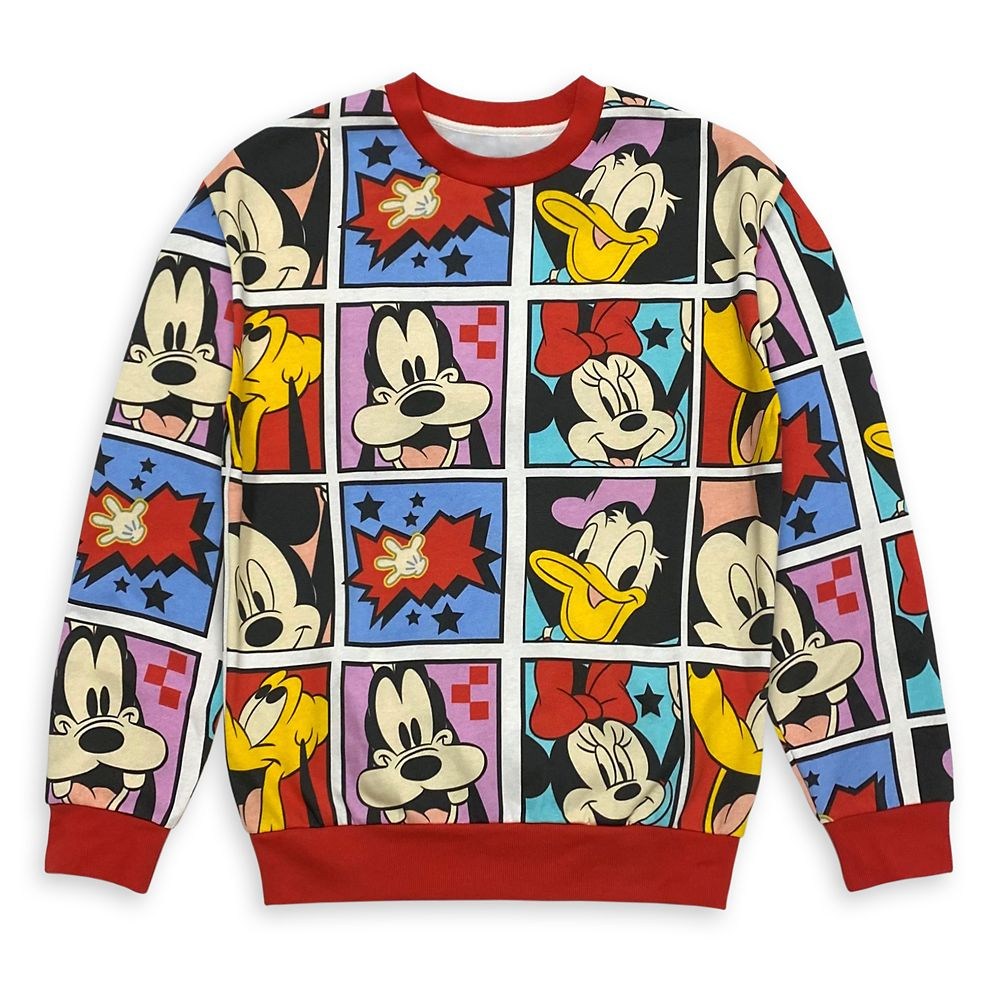 Mickey Mouse and Friends Ringer Sweatshirt for Women – Mickey & Co.