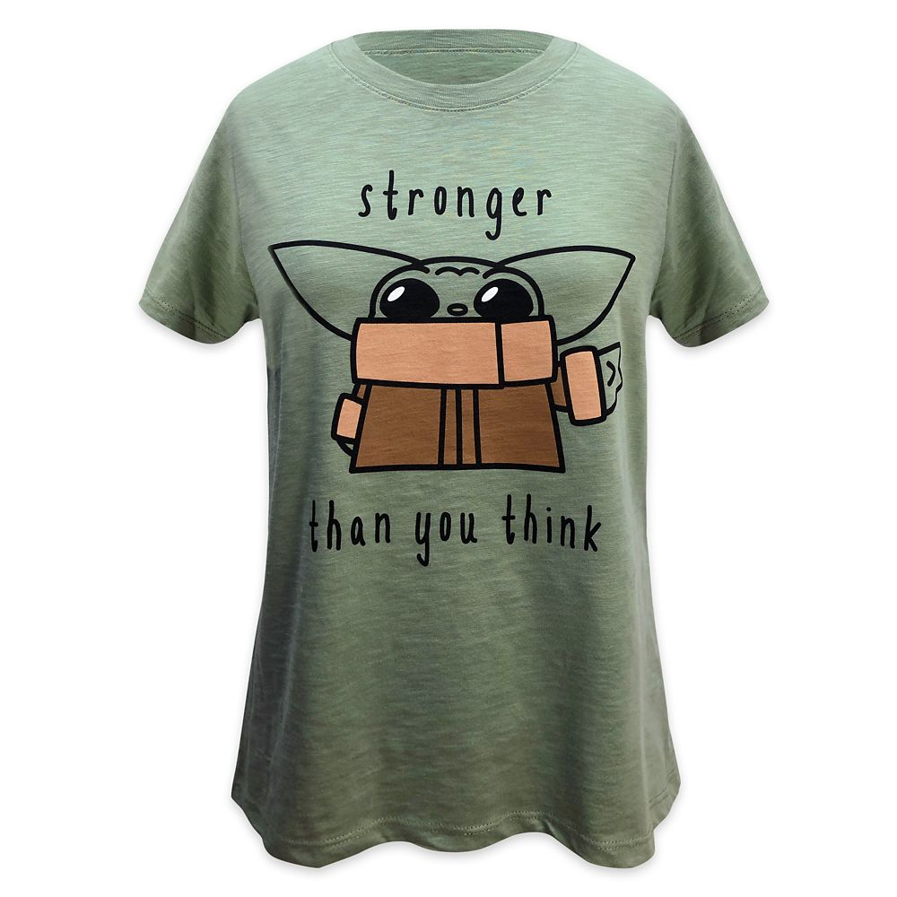 The Child ''Stronger'' T-Shirt for Women – Star Wars: The Mandalorian