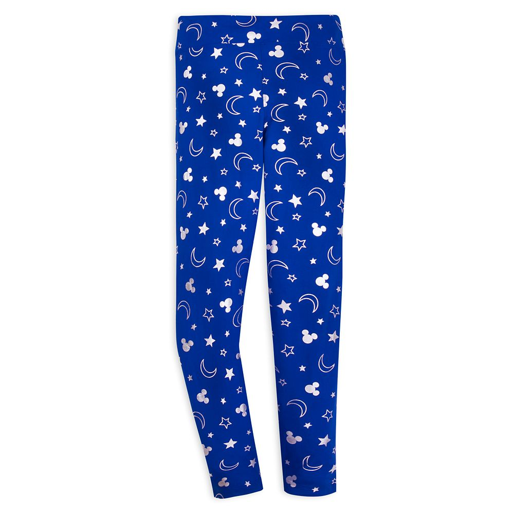 Mickey Mouse Leggings for Women – Wishes Come True Blue