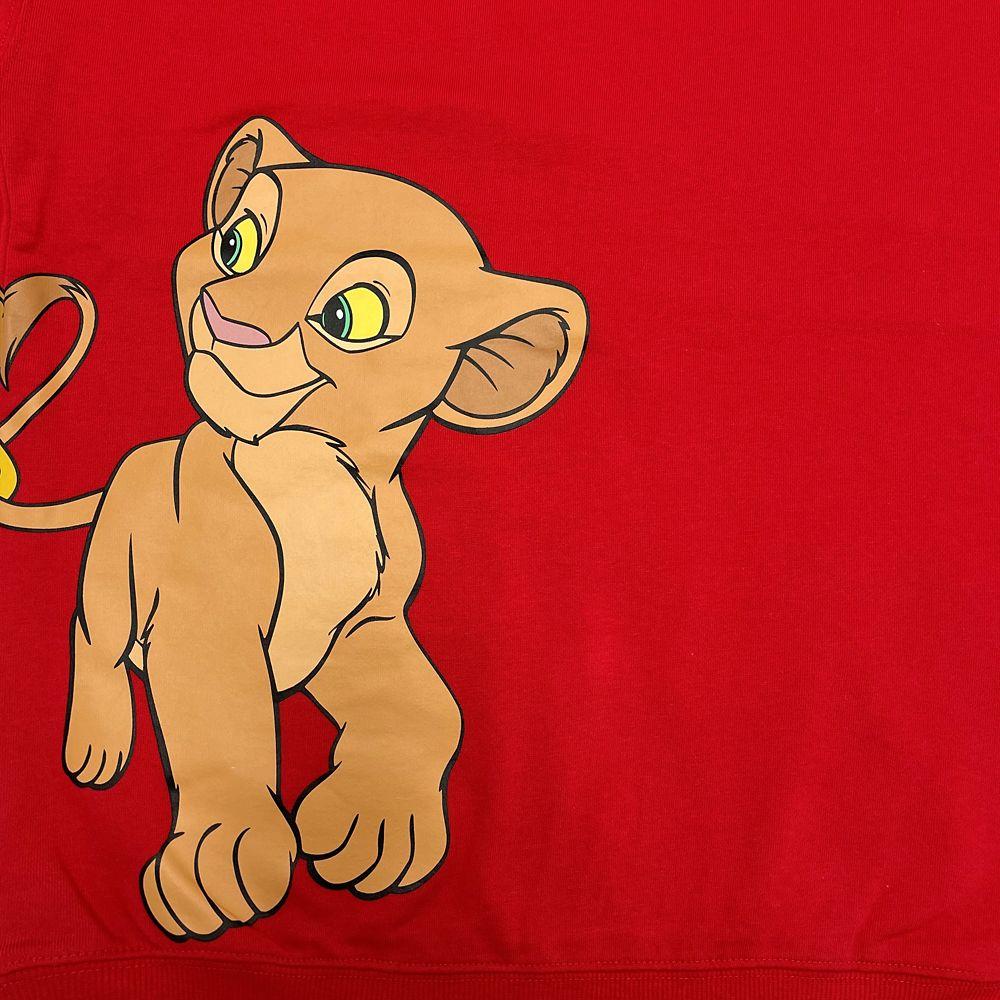 Simba and Nala Pullover Top for Adults – The Lion King – Walt Disney World