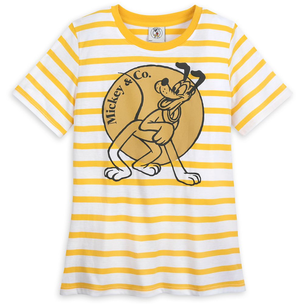Pluto T-Shirt for Adults – Mickey&Co.