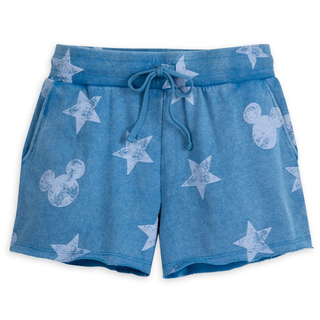 Mickey Mouse Icon Americana Sweat Shorts for Adults