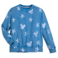 Mickey Mouse Icon Americana Pullover Sweatshirt for Women