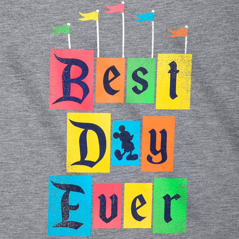 Mickey Mouse ''Best Day Ever'' T-Shirt for Adults – Disneyland