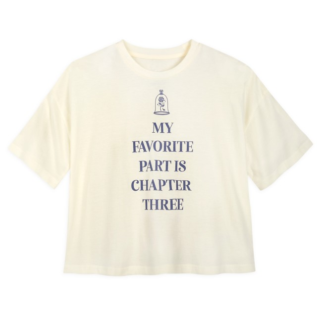 Belle ''My Favorite Part Is Chapter Three'' T-Shirt for Adults