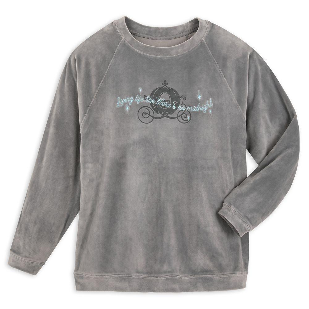 Cinderella Velour Sweatshirt for Adults
