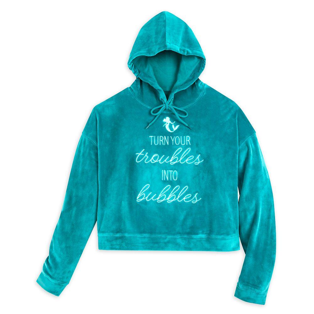 Ariel Pullover Fleece Hoodie for Women – The Little Mermaid