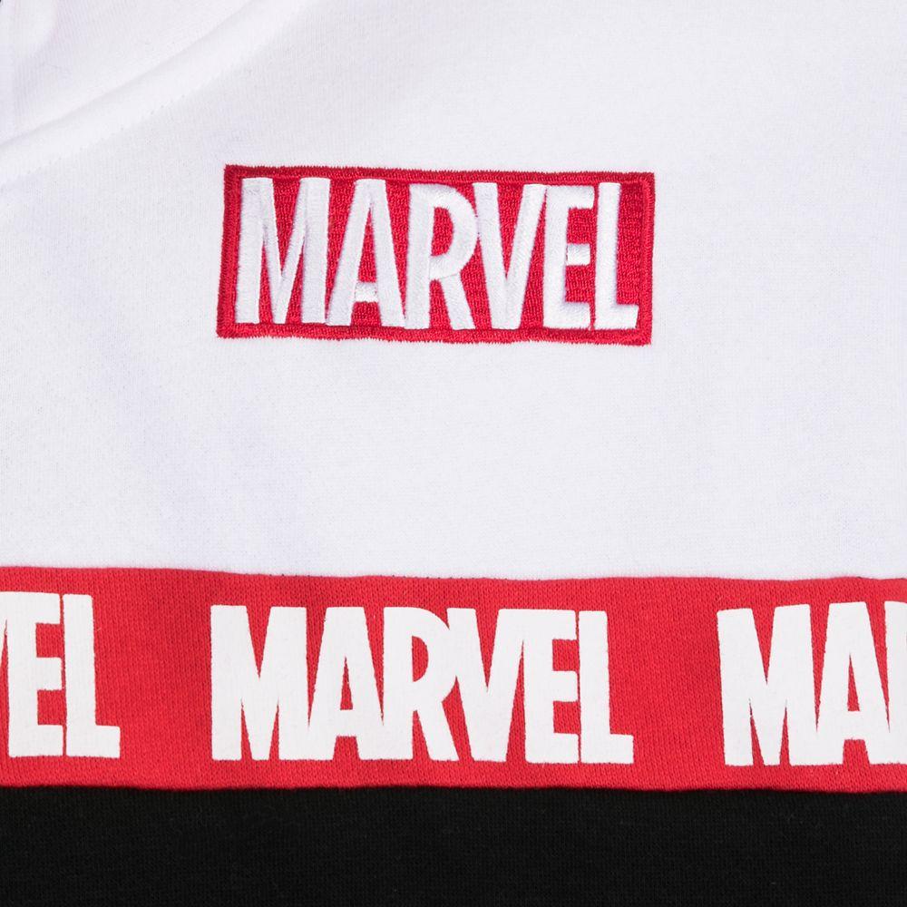 Marvel Logo Zip Hoodie for Men