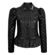 Cruella Faux Leather Jacket for Adults by Her Universe – Live Action