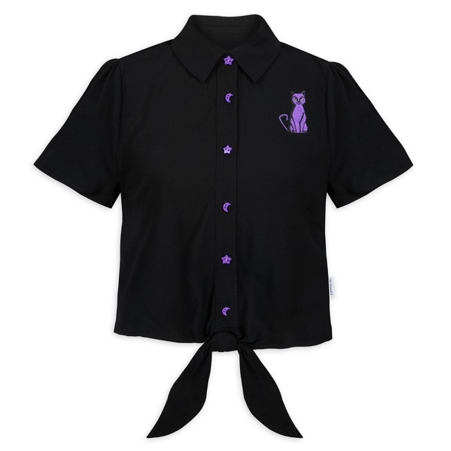 Hocus Pocus Tie Front Shirt for Women by Her Universe – Pre-Order