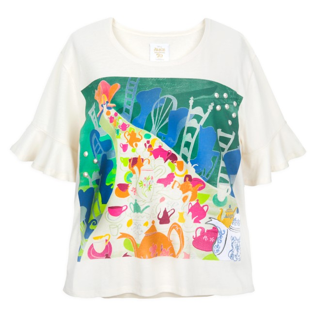 Alice in Wonderland by Mary Blair Knit Top for Women by Her Universe