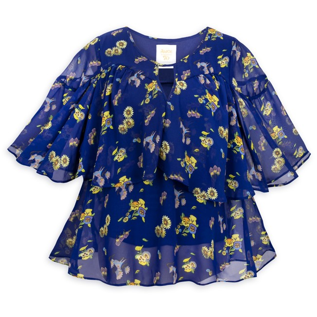 Alice in Wonderland by Mary Blair Woven Top for Women by Her Universe