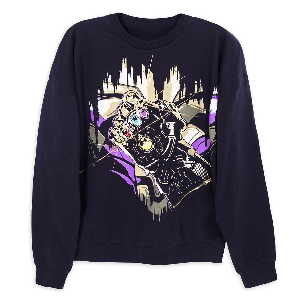 Thanos Infinity Gauntlet Light-Up Sweatshirt for Men