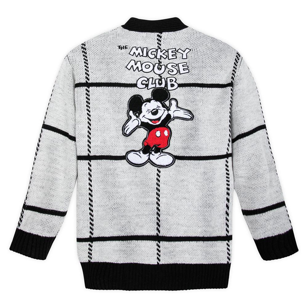 Disney Womens Mickey Mouse Presents Sweatshirt