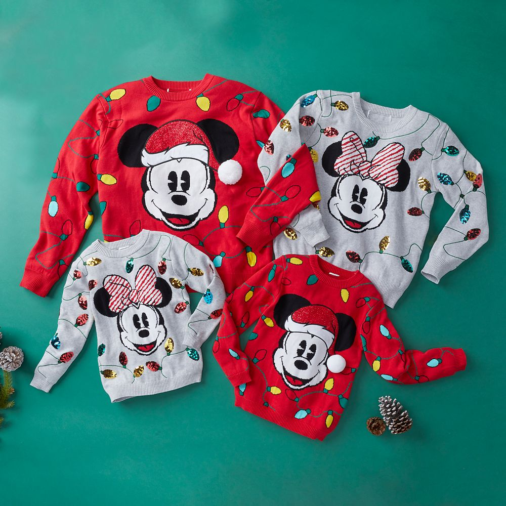 Minnie Mouse Holiday Cheer Sweater for Women