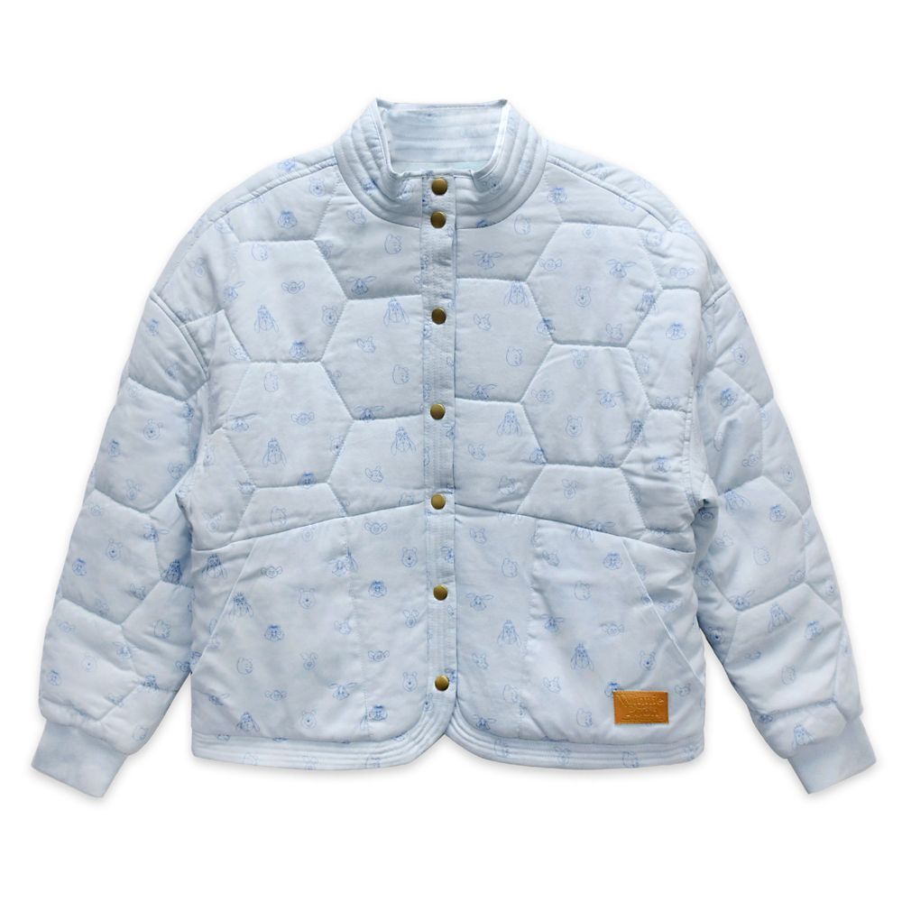 Winnie the Pooh Quilted Jacket for Women