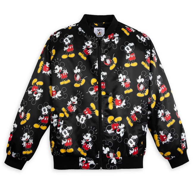 Mickey Mouse Satin Jacket for Women – Mickey & Co.