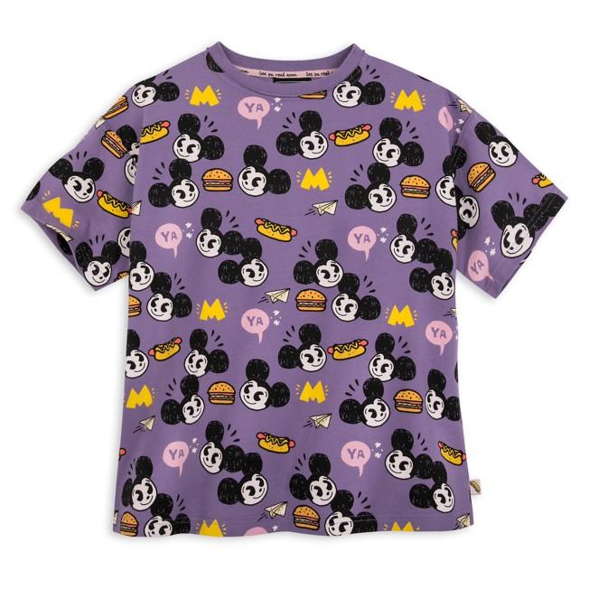 Mickey Mouse T-Shirt for Adults by Nanako Kanemitsu