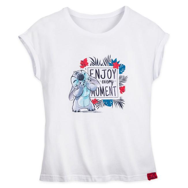 Stitch T-Shirt for Women – Disneyland Paris