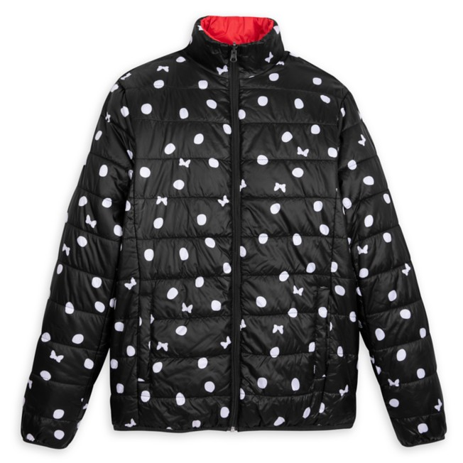 Minnie Mouse Puffy Jacket for Adults – Reversible