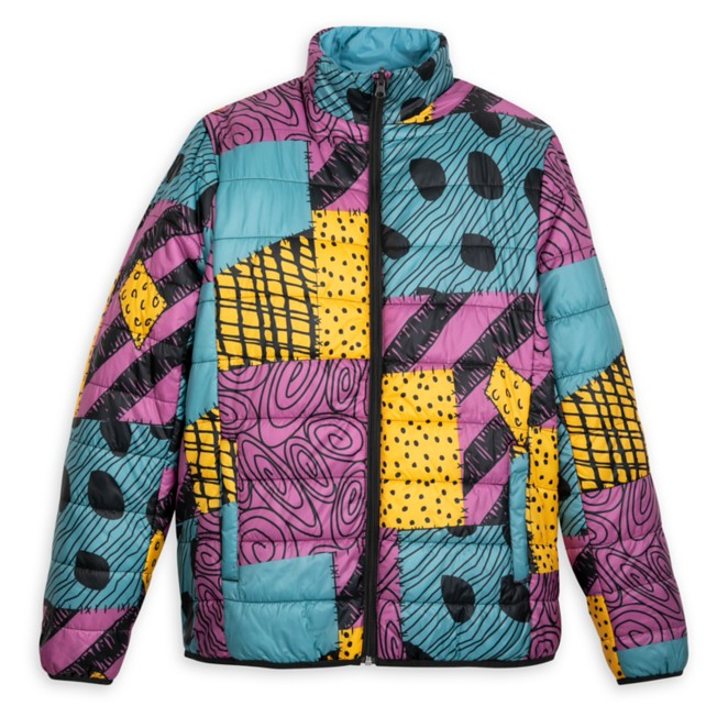 Sally Puffy Jacket for Adults – The Nightmare Before Christmas – Reversible