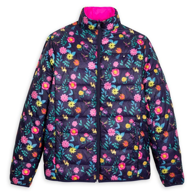 Alice in Wonderland Puffy Jacket for Adults – Reversible