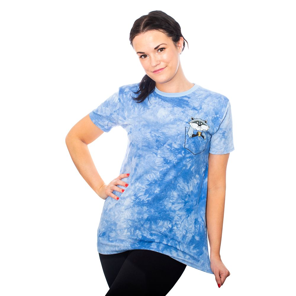 Meeko Tie-Dye T-Shirt for Adults by Cakeworthy – Pocahontas