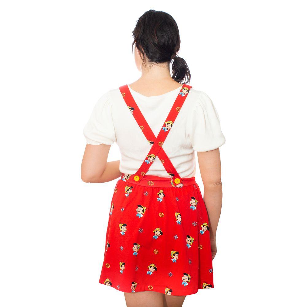 Pinocchio Suspender Skirt for Women by Cakeworthy