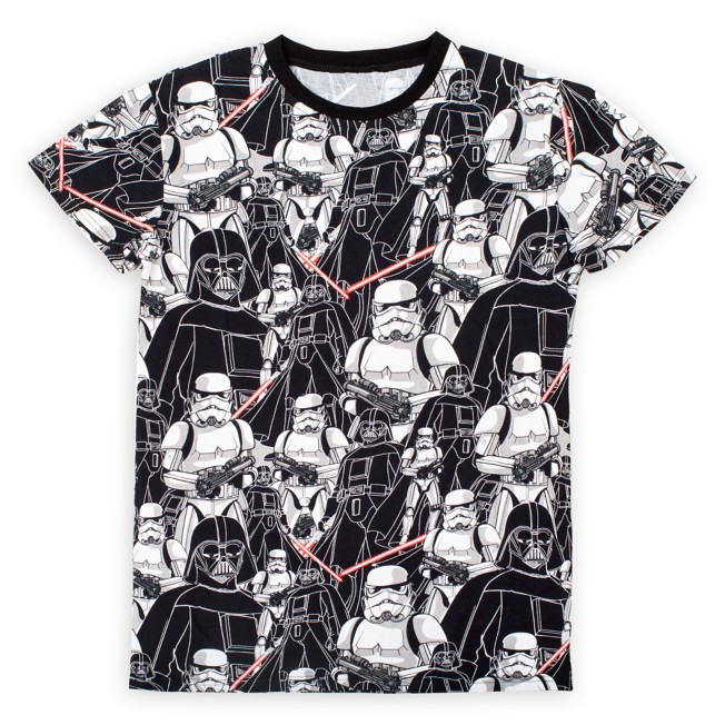 Darth Vader and Stormtrooper T-Shirt for Adults by Cakeworthy – Star Wars