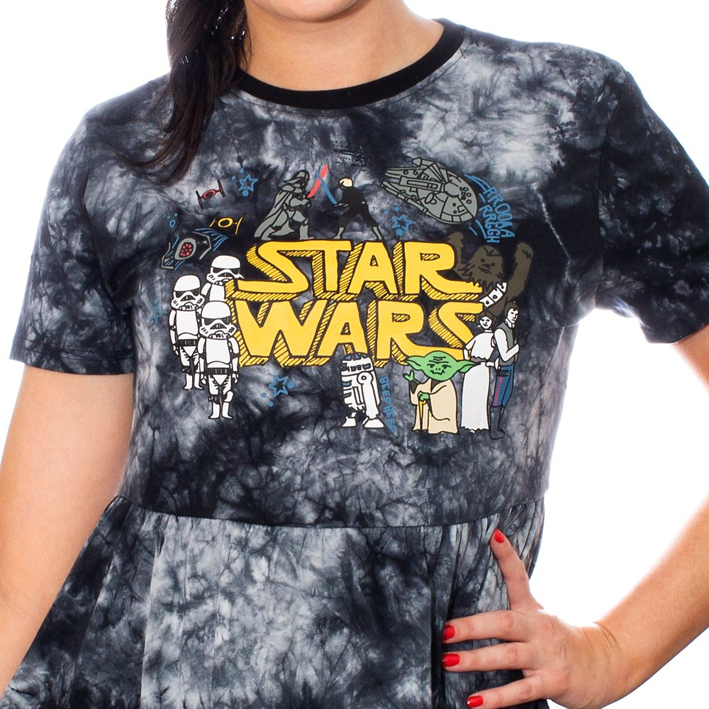 Star Wars Doodle Dress for Women by Cakeworthy