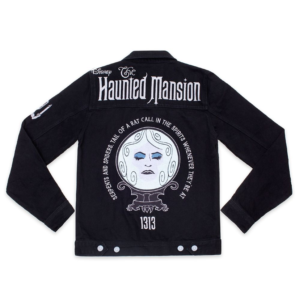 The Haunted Mansion Denim Jacket for Adults by Cakeworthy