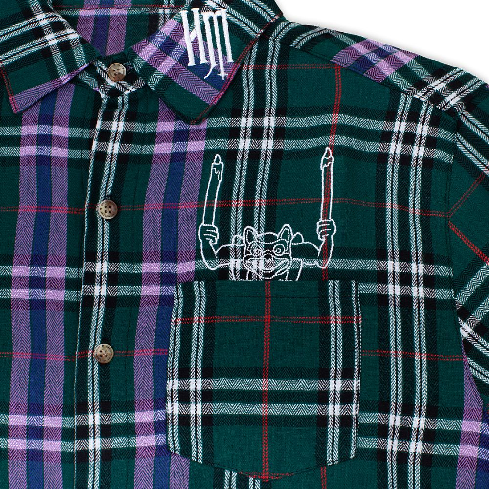 The Haunted Mansion Flannel Shirt for Adults by Cakeworthy