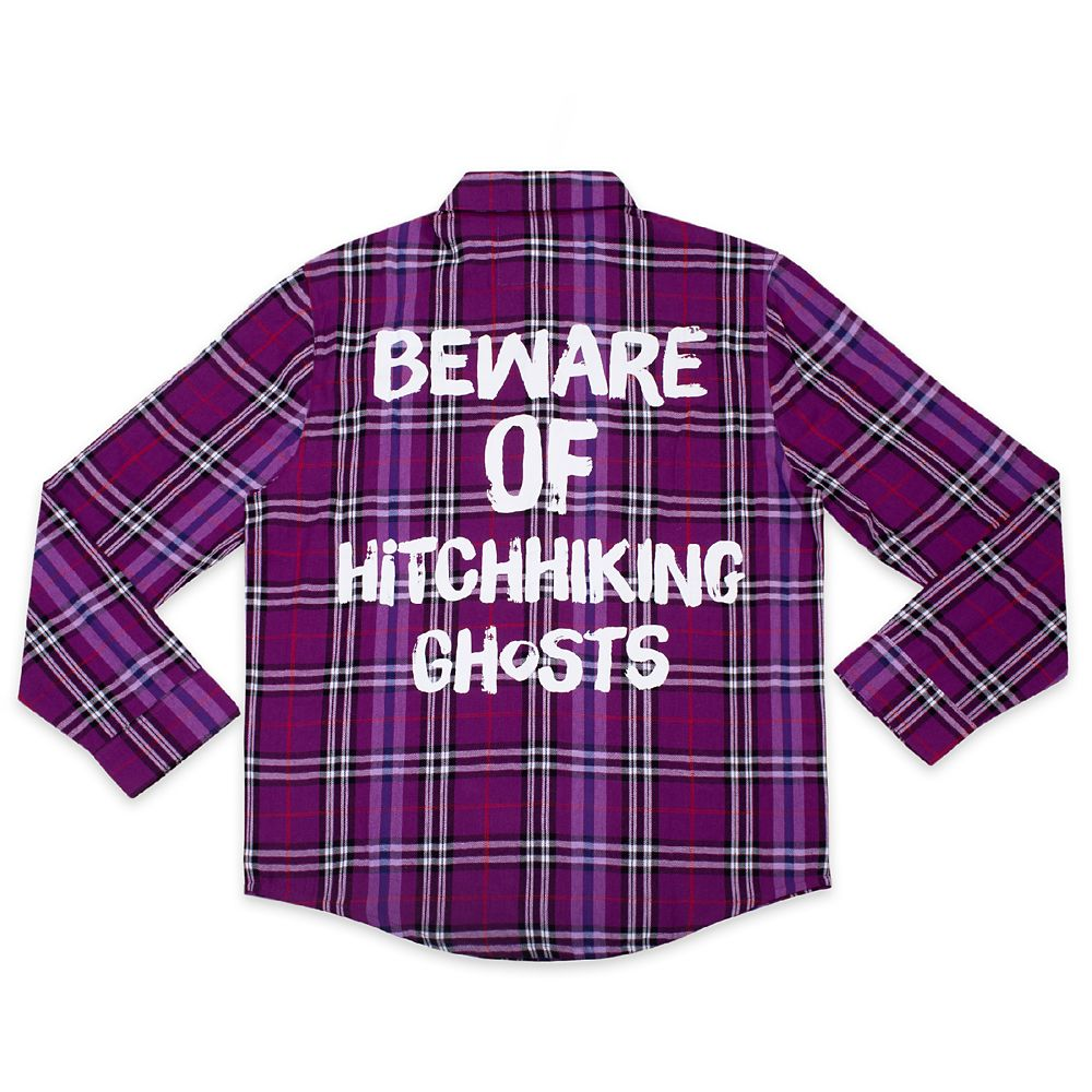 The Hitchhiking Ghosts Flannel Shirt for Adults by Cakeworthy – The Haunted Mansion