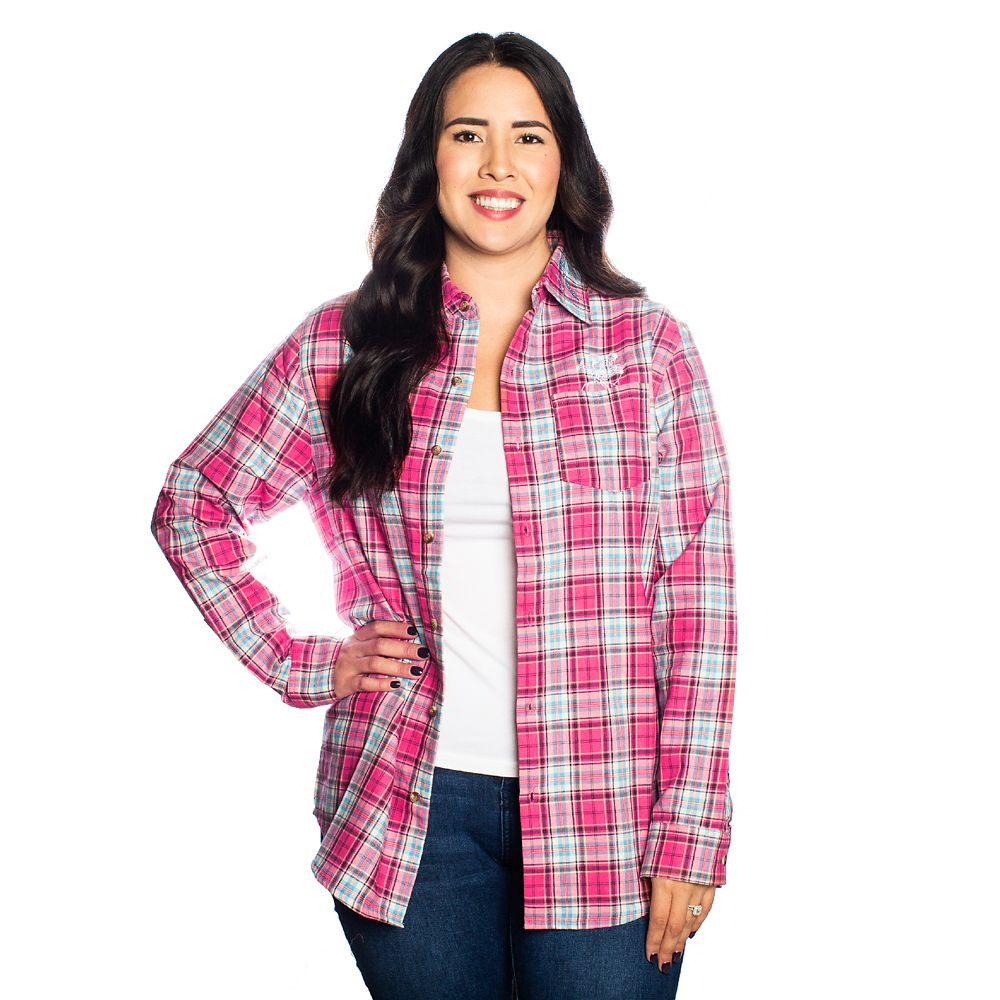 Cinderella Anniversary Flannel Shirt for Adults by Cakeworthy