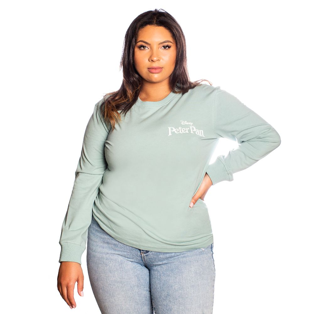 Peter Pan, Wendy and Tinker Bell Long Sleeve T-Shirt for Adults by Cakeworthy