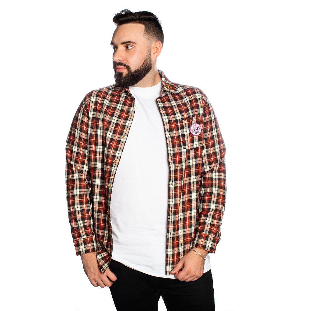 Up Flannel Shirt for Adults by Cakeworthy