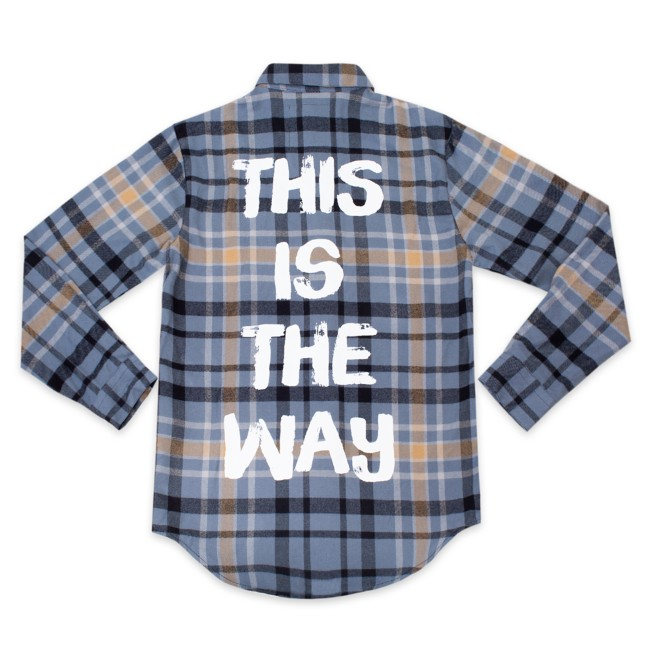 Star Wars: The Mandalorian Flannel Shirt for Adults by Cakeworthy