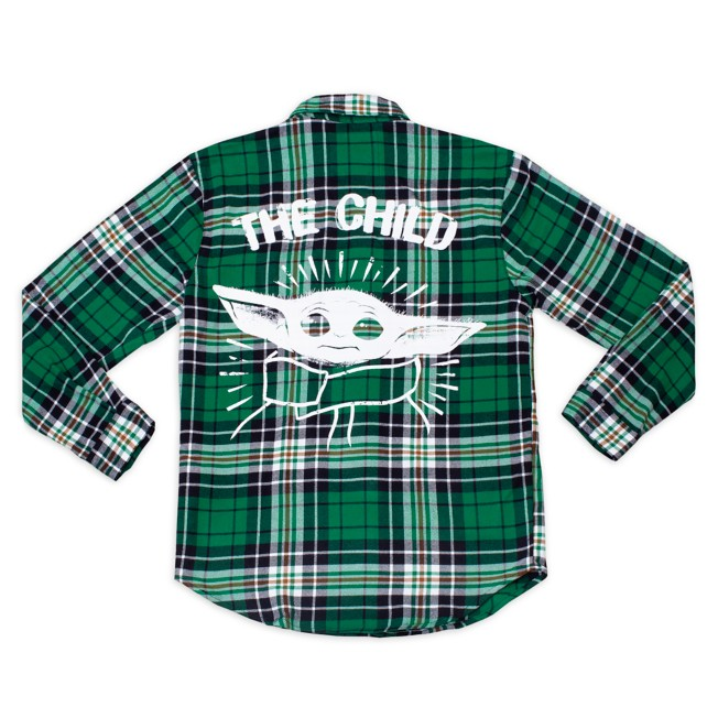 The Child Flannel Shirt for Adults by Cakeworthy – Star Wars: The Mandalorian