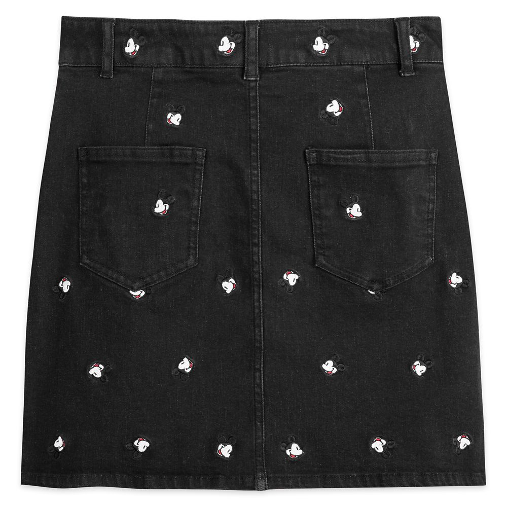Mickey Mouse Denim Skirt for Women by Cakeworthy