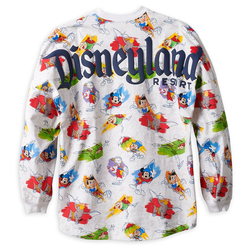 Disney Ink & Paint Spirit Jersey for Adults – Disneyland