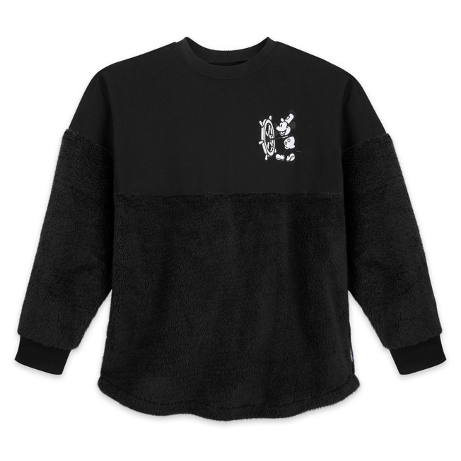 Mickey Mouse Steamboat Willie Grayscale Spirit Jersey for Adults