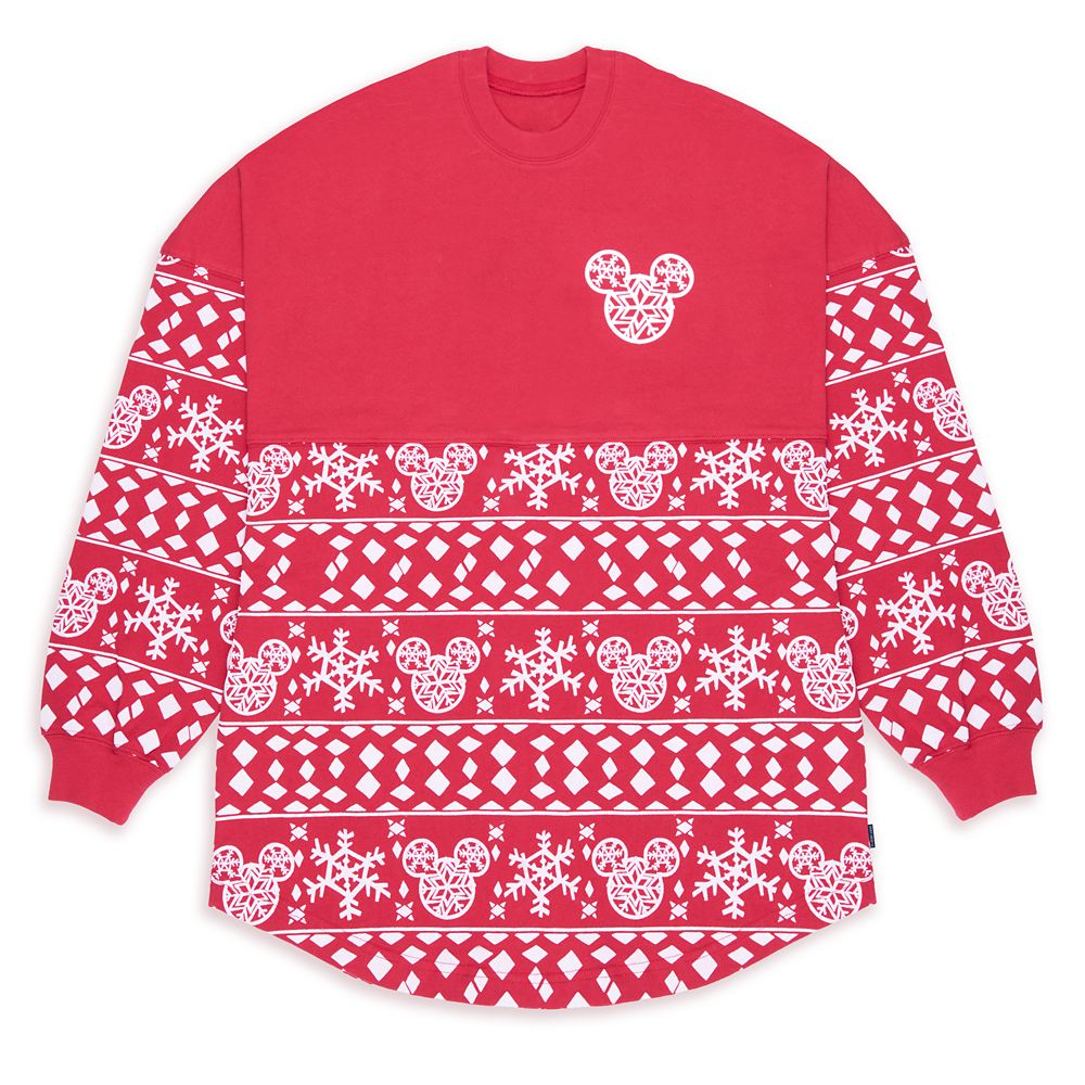 Mickey Mouse ''Merry & Bright'' Holiday Spirit Jersey for Adults