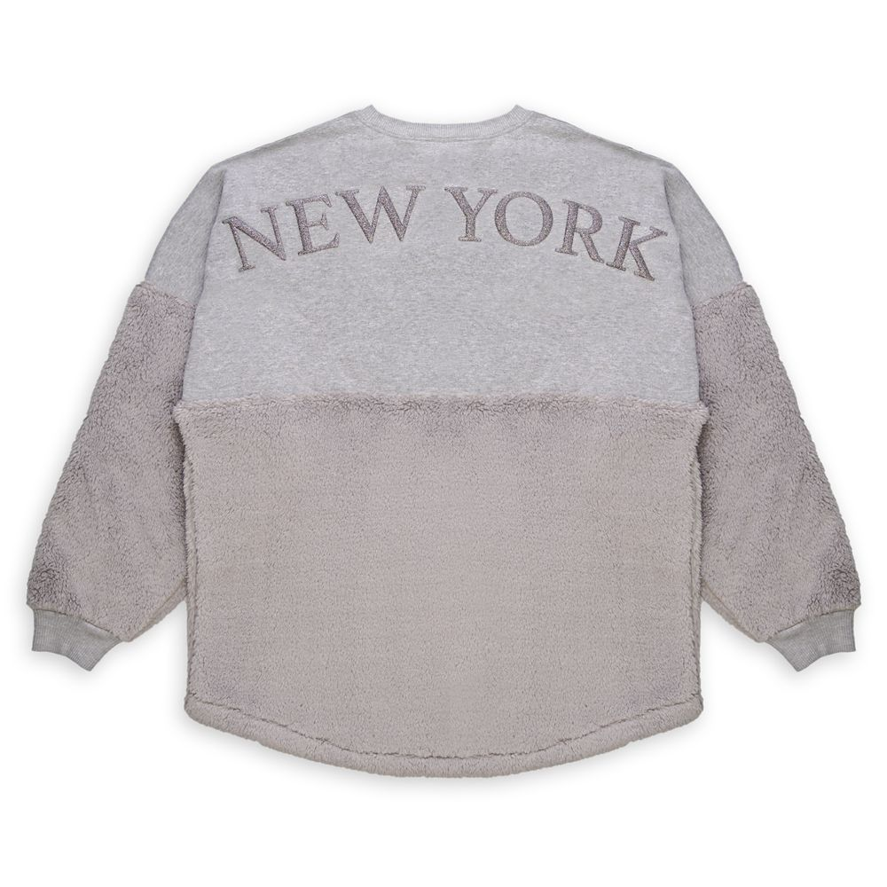 Mickey Mouse Icon Partial Sherpa Spirit Jersey for Adults – New York City