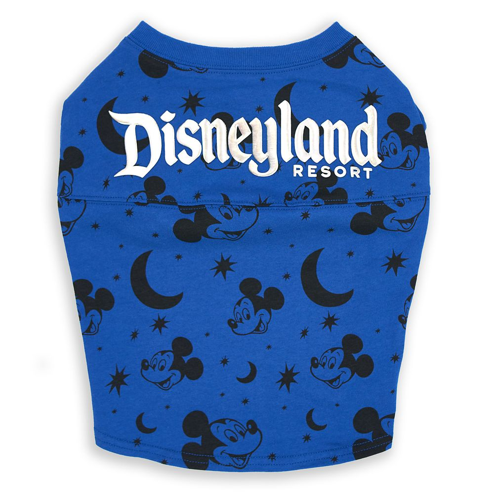 Mickey Mouse Spirit Jersey for Dogs – Disneyland – Wishes Come True Blue